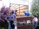 Ausstellung Siegelsbach 2002 - Aufbau_11