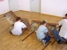 Ausstellung Siegelsbach 2002 - Aufbau_1